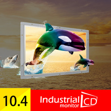"""Hot sale! 10.4 Inch Open Frame 4 wire Resistive Touch Screen Monitor PC 10"""" inch Touch Screen TFT LCD Color Monitor(China (Mainland))"""