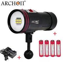 ARCHON D36VR W42VR Update ARCHON D36V W42V CREE U2 UV Multifunktions Unterwasser Fotografieren Licht Tauchen Video Licht