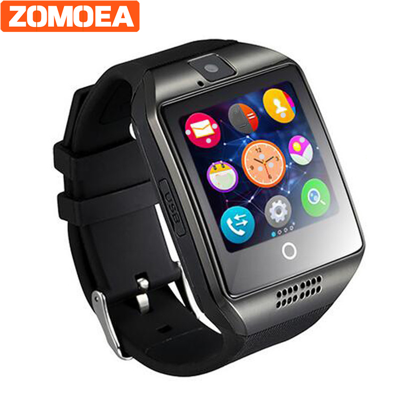 Q18 smart font b watch b font for android support GPRS bluetooth men women sport reloj