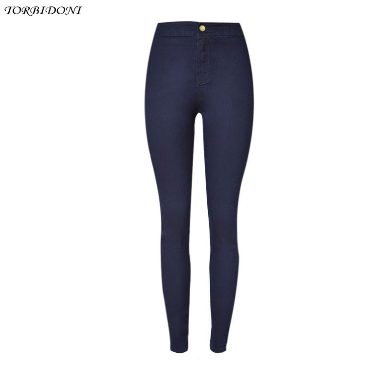 Women Elastic Denim Jean Pants High Waisted Skinny Trousers Pencil Pants Woman Slim Jeans Wear Femme Fashion Stretch Long Pants woman spring fashion diamond skinny jeans femme stretch women s pencil pants denim trousers for women slim light blue jeans l531