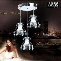 Modern Chandelier Lustre Crystal Chandeliers Optional Lustres De Cristal Chandelier LED With 5 15 Watt LED