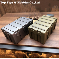 2 colors 1/6 Scale Tool Box Accessory PG 13 1/6 Model weapon box Equipment Storage Box for 12 inches Action Figures