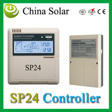 Hot Water experts SP24 controller ,Thermal solar heating System controller 110/220V,LCD Network Fuction+Free Shipping
