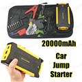 Car Jump Starter Power Bank Emergency Car 20000mAh Battery Booster Pack Vehicle Jump Starter Charger SOS Lights Free Ship