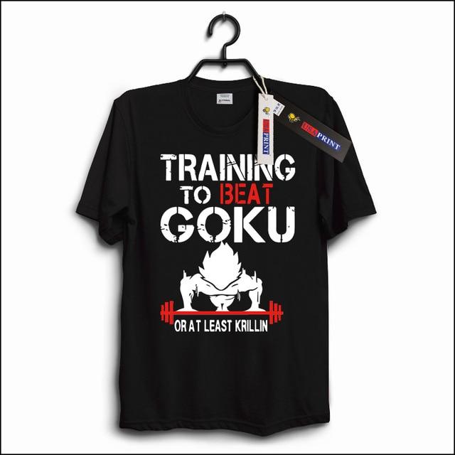 USAprint Luxury Men T Shirt Dragon Ball Z T-Shirt Goku DBZ Anime Top Tees Insaiyan Cotton Clothing Casual Boy Graphic Basic Soft