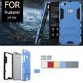 Casos de telefone huawei p9 lite tpu & pc 2em1 robusto combo à prova de choque armadura case para huawei p9 lite casos de cobertura de