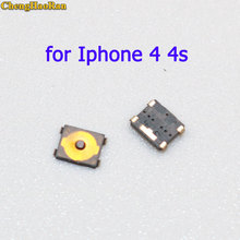 ChengHaoRan 2 pcs New Power Volume Switch Key Button replacement for Iphone 4 4s