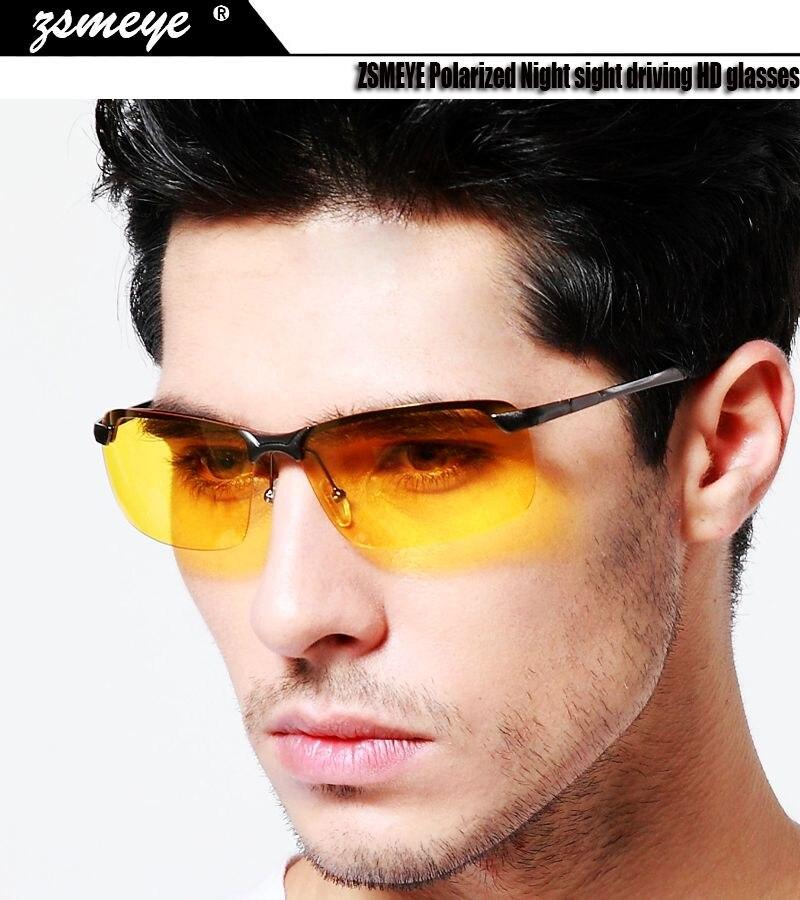 Glasses Goggles Driving Night-Sight Glareproof HD ZSMEYE Polarized