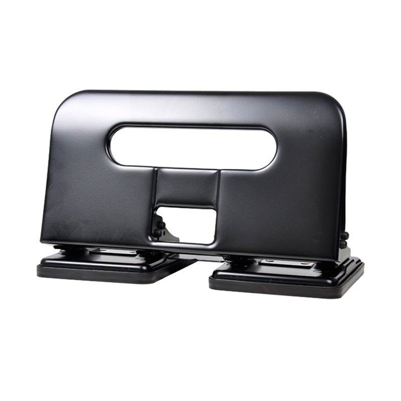 Metal Heavy Duty 4 Hole Punch Ring Album Paper Cutter Loose-Leaf Craft Paper Punch DIY Cutting Tools Office Binding Supplies metal oval 1 hole punch ring album paper cutter adjustable diy name card puncher scrapbooking tools office binding supplies