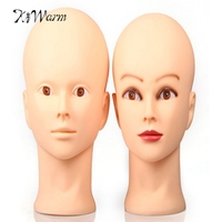 Female Mannequin Head Model Wig Hat Jewelry Display Cosmetology Manikin Hairdressing Doll Women Hairdresser Sent Randomly