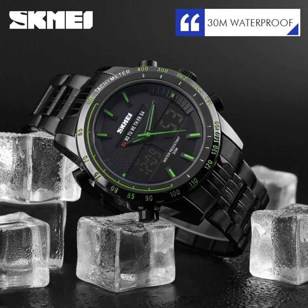 Digital Watch Outdoor Wristwatch Casual Multi function watch Business Men s Watch Sport Large Dial Waterproof