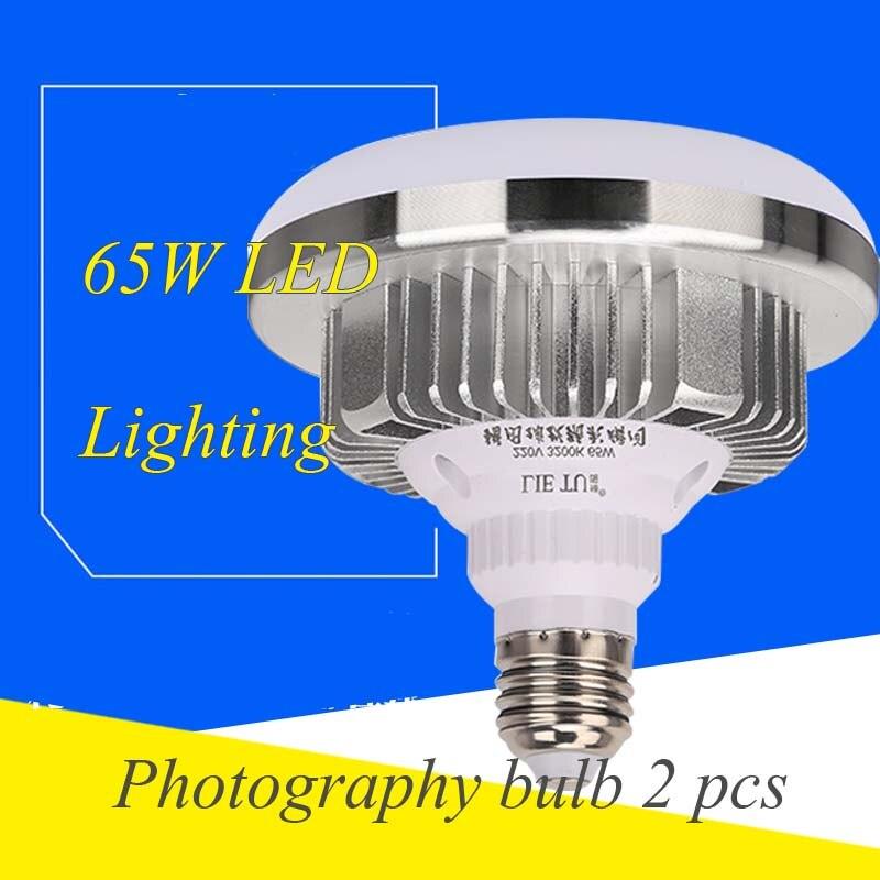 2db Light LED világítás fényképezés 65w izzó 5500k - Kamera és fotó