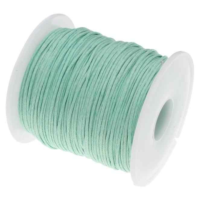 19 Цвет 100 ярдов) 1 мм вощеный шнурок моток веревки пластиковый шнур ремень для DIY жгут из бисера Изготовление браслета ожерелья