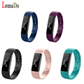 2017 New Hot ID115 Smart Band Bluetooth Bracelet Pedometer Fitness Tracker Wristband For Android iOS
