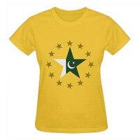 RTTMALL Ultime Novità Grandi magliette per le Donne Abbigliamento All'ingrosso Manica Corta In Cotone Pakistan e Le Stelle Donna Stampato Tee-shirt