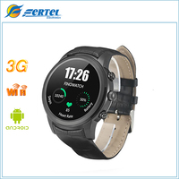 New Arrival Android 4 4 SmartWatch 1 4 AMOLED Display 3G WiFi GPS Dual Bluetooth Smart