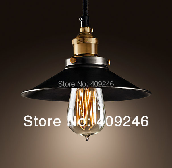 ФОТО Industrial Vintage Edison Mini Metal Pendant Light Hanging Ceiling Lamp Cafe Bar Hall  Club Store Restaurant Balcony