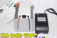 12V 600AH LiFePO4 Battery Pack 5000W BMS Charger Free Shipping