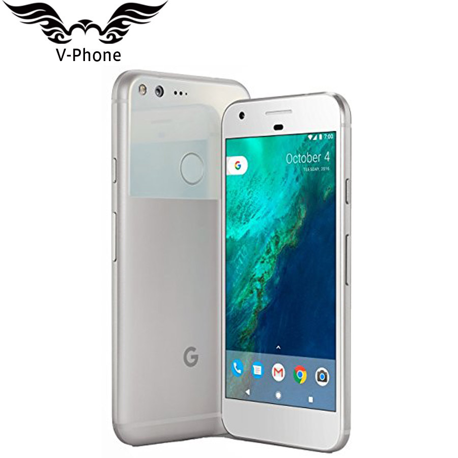 5 inch Google Pixel Mobile Phone Brand NEW Original 4GB RAM 32GB 128GB US Version Snapdragon Quad Core 4G LTE Android Smartphone-in Cellphones from Cellphones & Telecommunications    1