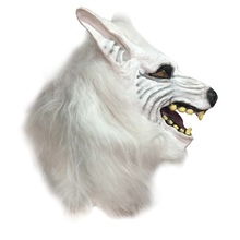 Party Mask Funny Animal Head Mask Creepy Halloween Costume Theater Novelty Masks Prop Latex Rubber wd02
