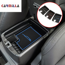 Carmilla Car Central Storage Armrest Box Arm Rest Storage Box for Nissan X-trail X Trail Xtrail T32 Rogue 2014-2018 Accessories(China)