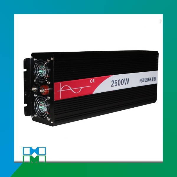 цена на 2500W/2.5KW 48Vdc dc to 220V ac Pure Sine Wave Power Inverter (5kw/5000w peak power) Free shipping