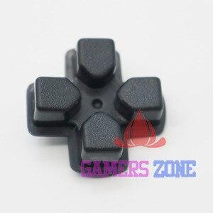 Image 3 - 50 ADET Siyah Plastik D PAD Düğme anahtar düğmeler Sony PlayStation 3 için PS3 Denetleyici