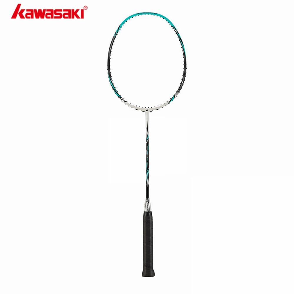 2019 Half Star Genuine Kawasaki Full Carbon Badminton Rackets Best Buys Raquette Badminton X260 With Free Gift