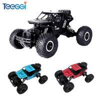 Teeggi C08S Remote Control Toys RC Cars 1:16 4WD Climbing Car Bigfoot Car Off Road Vehicle Toy for Children Gift Double Motors