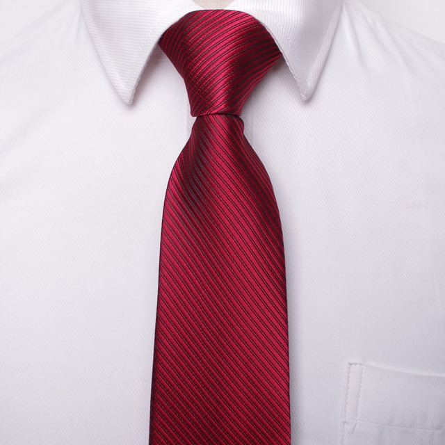 Classic men's business formal neck ties