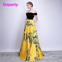 Doparty XS3 elegant formal satin special occasion mother of the bride evening dresses long dress evening gowns for women 2018