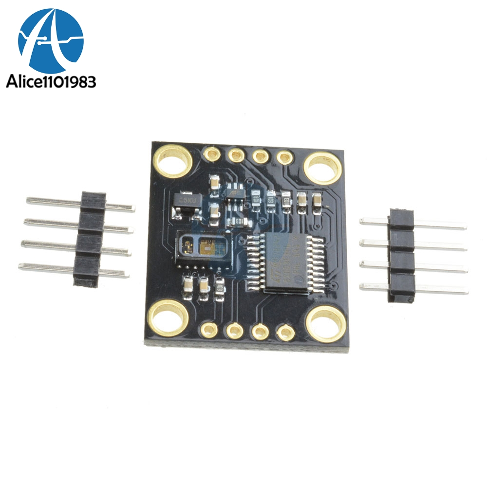 DC <font><b>5V</b></font> IIC I2C MAX30105 Particle Optical Sensor Photodetectors Board Module Smoke Detection Detector With Pins High Accuracy image