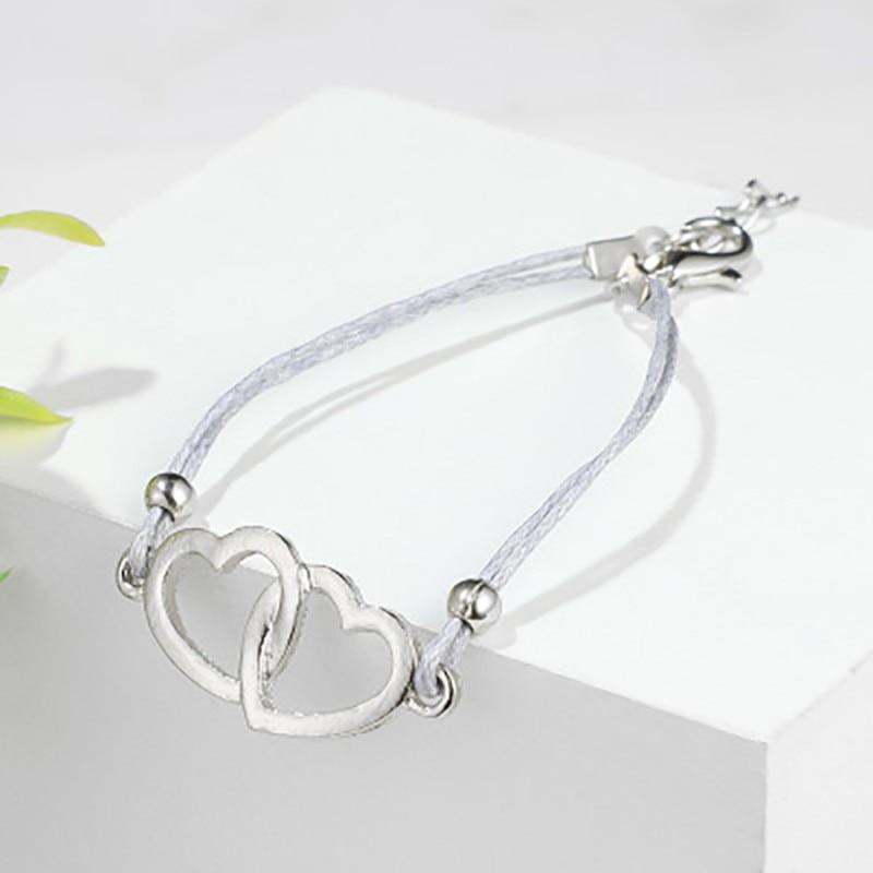 New Fashion 2019 Memorial day 4PCSSet Stone Beaded Charm Infinite Bracelets Set Charm Bracelet Set For lovers