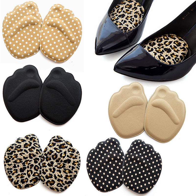 цена на Fashion Sole High Heel Foot Cushions Forefoot Anti-Slip Insole Breathable Shoes Pad Soft Comfortable Braces & Supports