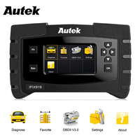 Autek IFIX 919 OBD2 Automotive Scanner Full System OBDII Diagnosic Tool with ABS Airbag SRS Engine Transmission Crash Data Reset