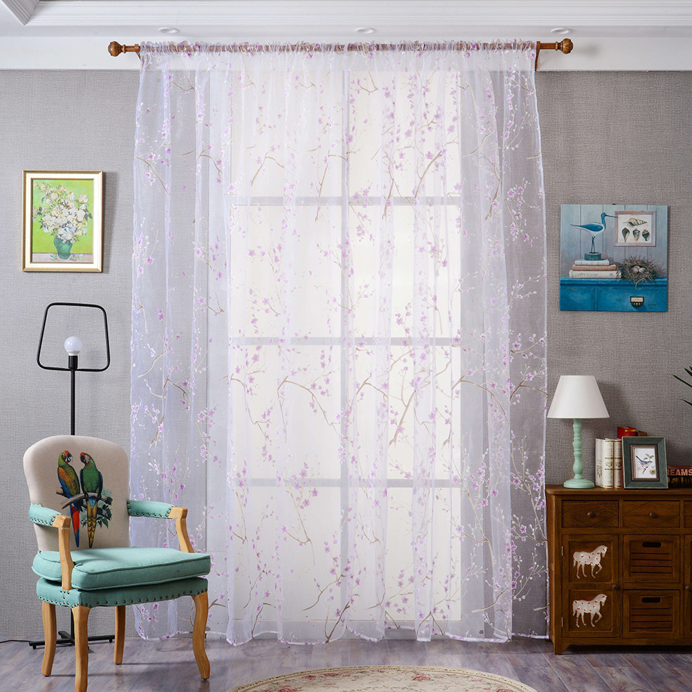 Aliexpress.com : Buy 1X2m Cheap Curtains Short Curtains Transparent ...