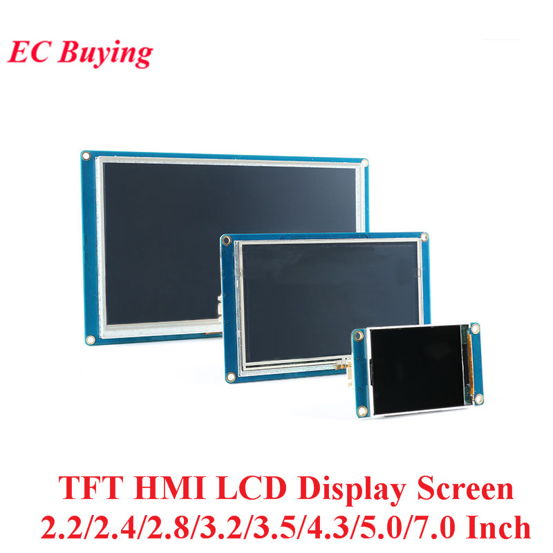 2.2/2.4/2.8/3.2/3.5/4.3/5.0/7.0 Inch TFT HMI LCD Display Module Screen Touch For Arduino 320*240/400*240/480*320/480*272/800*480