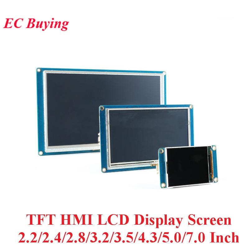 2.2/2.4/2.8/3.2/3.5/4.3/5.0/7.0 pouces TFT HMI Module d'affichage LCD écran tactile pour Arduino 320*240/400*240/480*320/480/272 * * /800*480