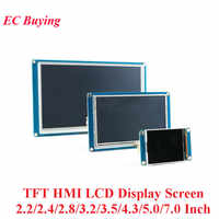 2.2/2.4/2.8/3.2/3.5/4.3/5.0/7.0 Pollici TFT HMI Display LCD modulo Touch Screen Per Arduino 320*240/400*240/480*320/480*272 /800*480