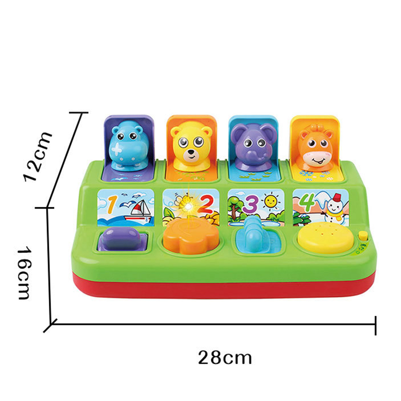 Kids Electronic Educational Game Cute Animals Music Toy Kids Interactive Toddlers Baby Learning Development Toy