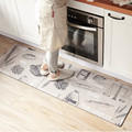 Кухонный напольный коврик 80X4 5 см/120X4 5 см/150x45см с принтом хлеба  современный нескользящий/Противоскользящий ковер из ПВХ и кожи