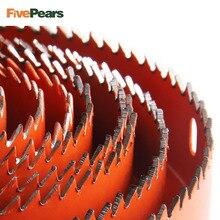 Набор для резки отверстий, сверлильный инструмент, резец по дереву, металлу, 19-127 мм, высокое качество, оправки, пилы, коронки, сверла, деревообработка