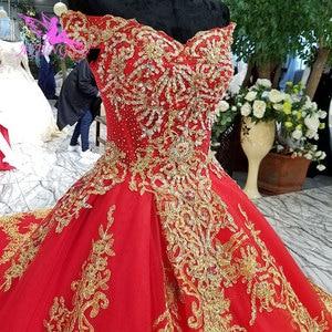 Image 4 - AIJINGYU robes de mariée à manches longues en dentelle et Tulle robes de mariée musulmanes avec prix 3 en 1 porter robe de mariée de grande taille corée
