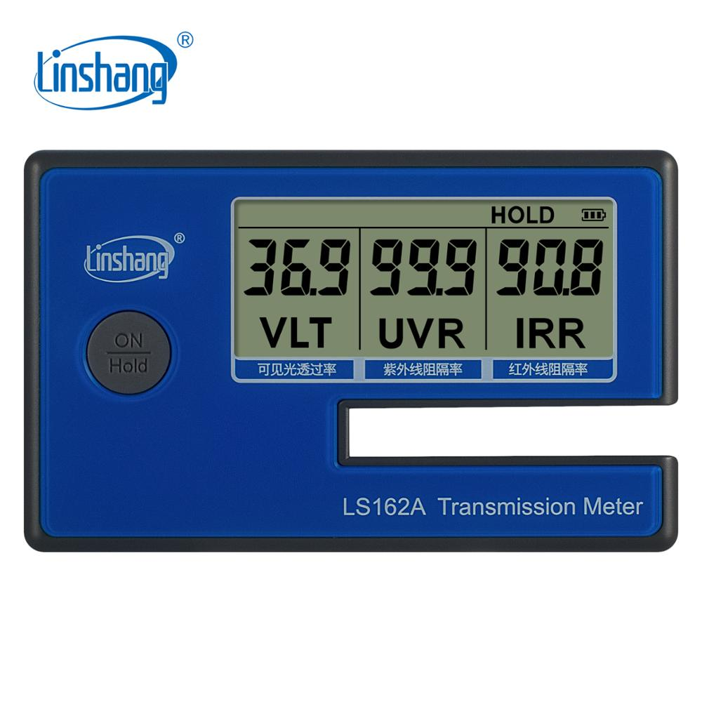 Linshang LS162A Handheld Window Film Transmission Meter with 1400nm IR rejection UV blocking rate Visible light