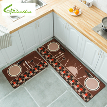 Long Kitchen Mat Cheaper Anti-slip Modern Area Rugs Living Room Balcony Bathroom Carpet Set Doormat Bath in The Hallway