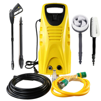Mason 1900Psi 1400W High Pressure Cleaner Car Washer Garden Yard Floor Cleaning Machine Car Wash High