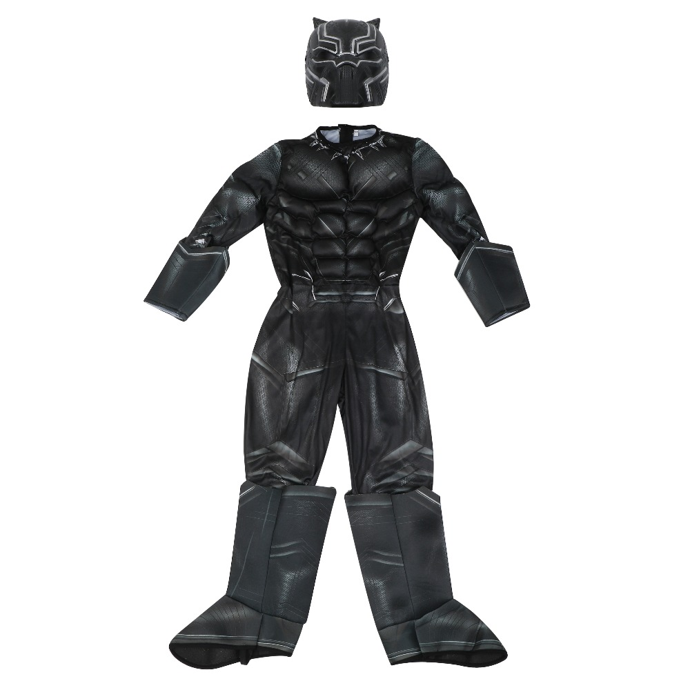 Boys Civil War Black Panther Deluxe - Kostymer - Bilde 2