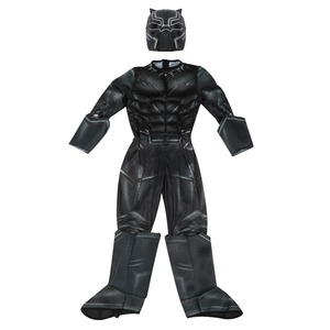 Image 2 - Boys Civil War Black Panther Deluxe Costume