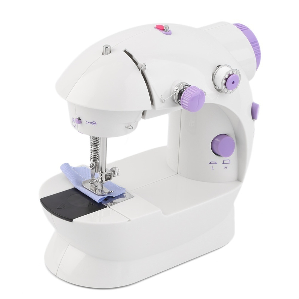 Mini Handheld Sewing Machines Multifunction Electric Automatic Craft Dual Speed Double Thread Home Sewing Tools Needle Arts