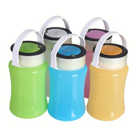New Creative Sport Design 3AA Battery Powered Camping Bottle Light Portable Outdoor Camping Water Bottle Hanging